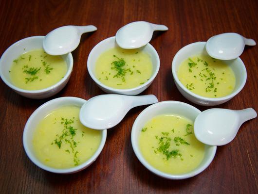 Soup ngô kem