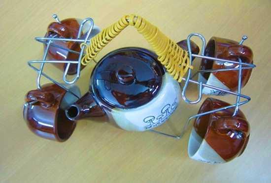 Bộ ấm chén uống trà dễ thương, cùng người yêu thương thưởng thức những tách trà đậm đà thi vị - Chỉ 55.000đ