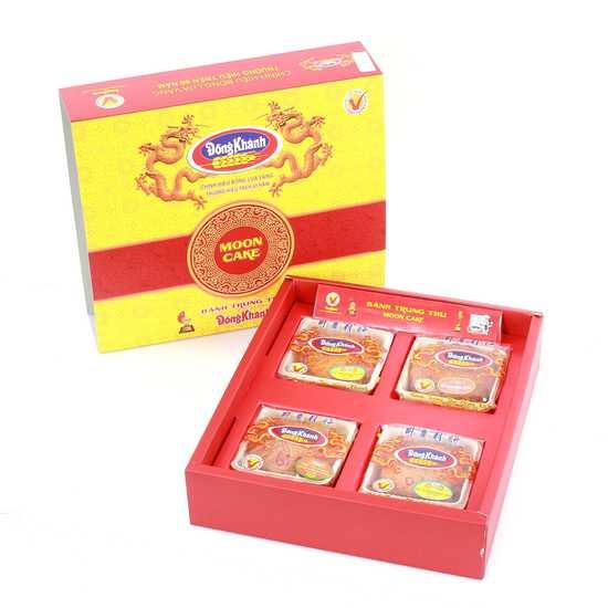 4 bánh thiếu nhi trung thu  Đồng Khánh Bông Lúa Vàng