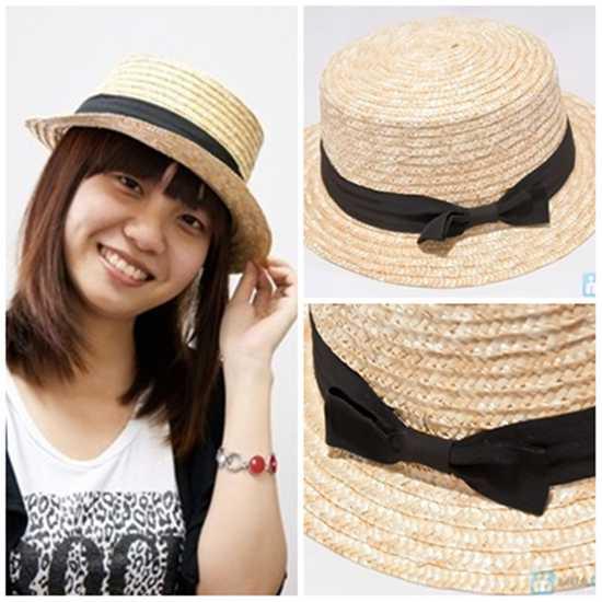 Nón cói nữ Vintage cho bạn gái thể hiện phong cách sành điệu và cá tính - Chỉ 78.000đ/ 01 chiếc
