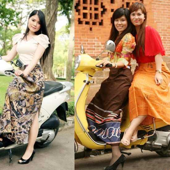 Váy chống nắng, giúp bảo vệ đôi chân bạn, tiện lợi khi đi xe máy - Chỉ với 75.000đ/ 1 chiếc