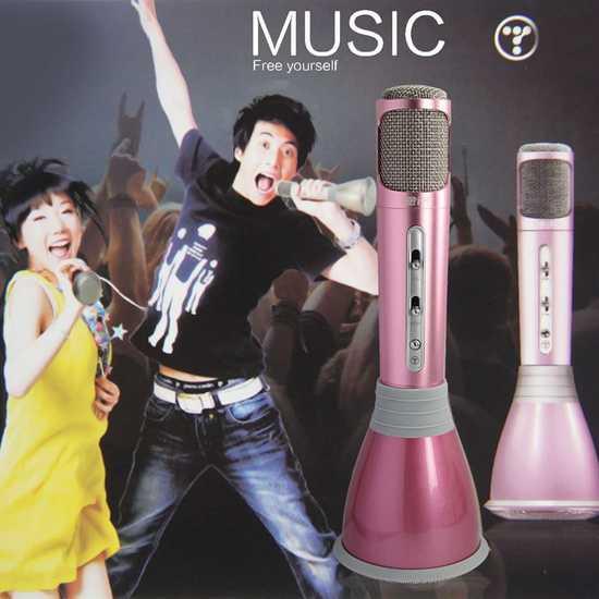 Micro Karaoke kiêm loa di động thế hệ mới KTV-K068