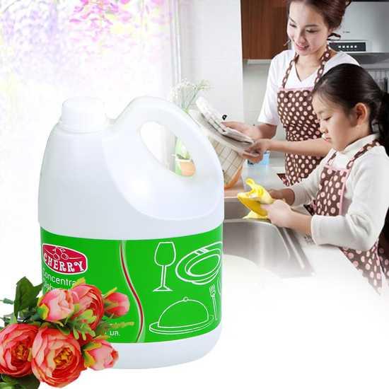 Nước rửa chén Cherry Thái Lan 3,6L thơm mát