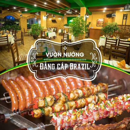 Buffet nướng đẳng cấp tại Vườn Nướng Brazil