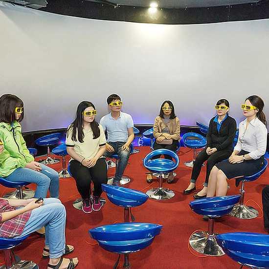 Vé xem phim 12D màn hình tròn tại X360 Cinema
