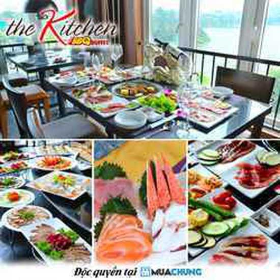 Buffet Kitchen BBQ cao cấp ngắm Hồ Gươm