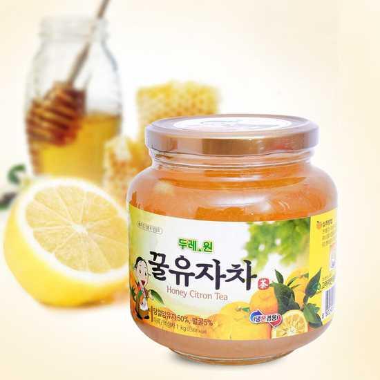 Mật ong chanh Hàn Quốc loại 1kg
