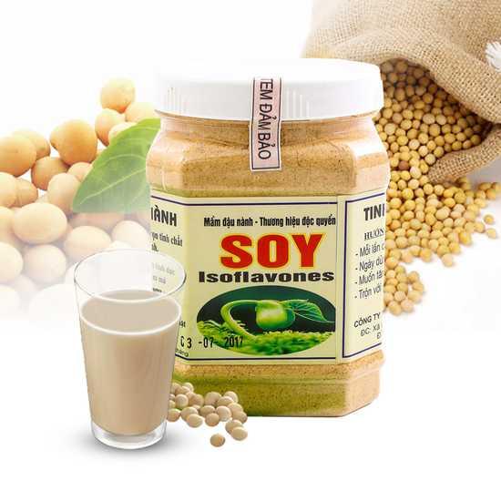 Tinh chất mầm đậu nành Soy - Hộp 500g