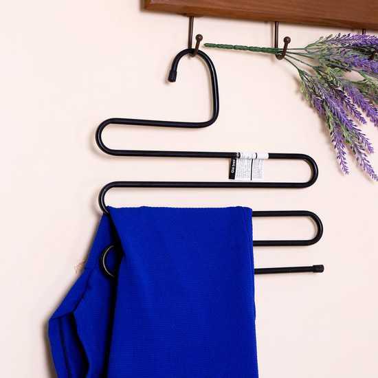 Combo 3 móc treo quần, áo đa năng loại 5 tầng