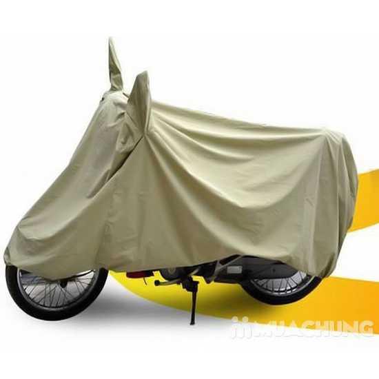 Bạt phủ bảo vệ xe máy có tai gương Tân Hưng Phong