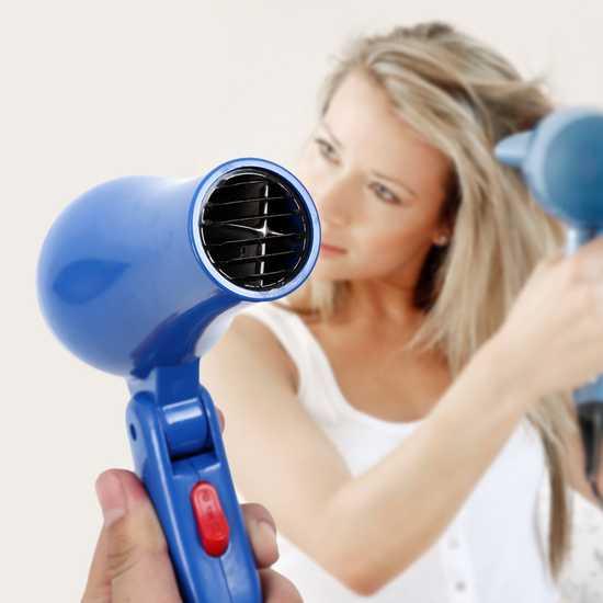 Máy sấy tóc mini nhỏ gọn 850W