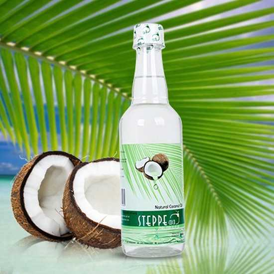 Dầu dừa Steppe coco nguyên chất - chai 500ml