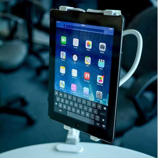 Đế kẹp đuôi khỉ cho iPad, máy tính bảng