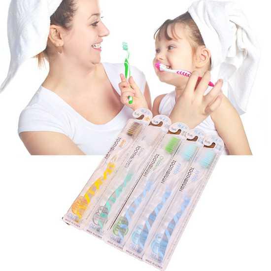 05 bàn chải đánh răng Bis Nano diệt khuẩn 99,9%