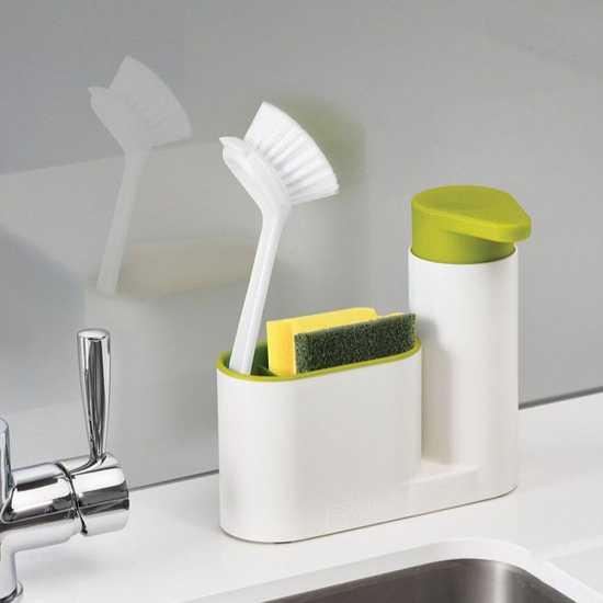 Hộp đựng nước rửa bát/giẻ/bàn chải đa năng
