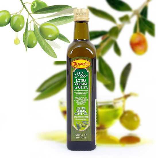 Dầu Olive Romoli nguyên chất NK Ý loại 500ml