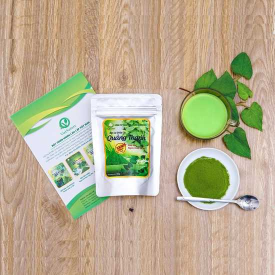 Bột diếp cá Quảng Thanh 100% nguyên chất (100g)