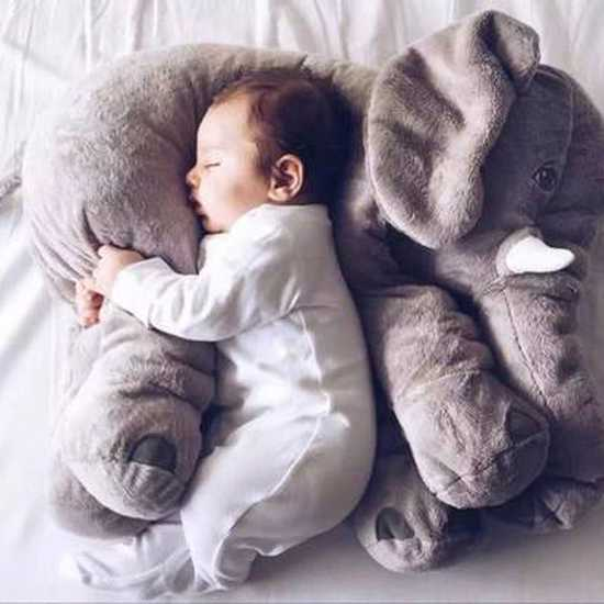 Gối ôm voi cỡ to cho bé
