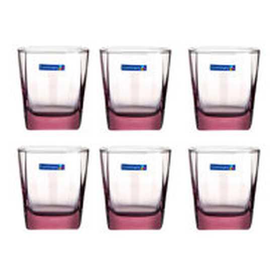 Bộ 6 cốc màu lùn Luminarc (tròn/vuông)