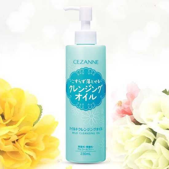 Dầu tẩy trang Nhật Cezanne Mild Cleansing 230ml
