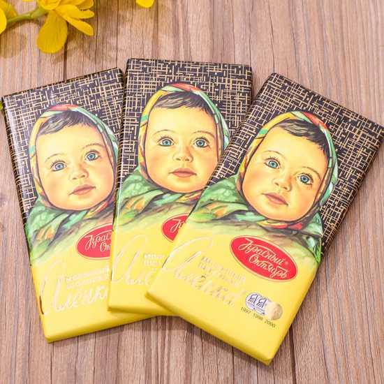 3 thanh socola Alionka nhập khẩu Nga (100g/thanh)