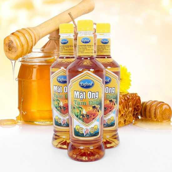 3 chai mật ong tam đảo Eufood phân phối
