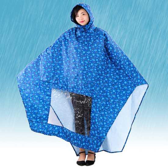 Áo mưa Tumi 2 đầu tiện lợi, nhiều họa tiết