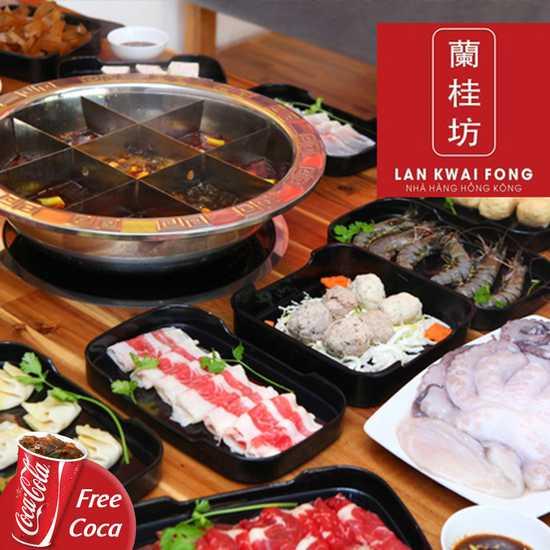 Buffet trưa lẩu Hồng Kông đặc sắc-NH Lan Kwai Fong