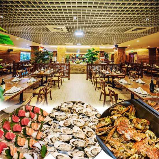 Buffet Sen Xanh cao cấp gần 300 món đẳng cấp Á Âu