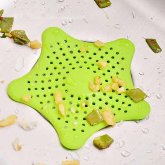 Combo 3 lưới chắn rác hình ngôi sao cho bồn rửa