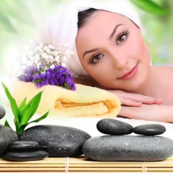 Xông hơi, massage body đá, chăm sóc da mặt tại AHA Spa