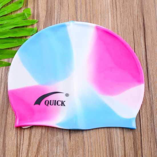 Combo 02 mũ bơi silicon bền, đẹp