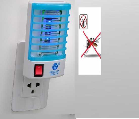COmbo2 Đèn Led ngủ kèm tính năng bắt muỗi, bảo hành 6 tháng