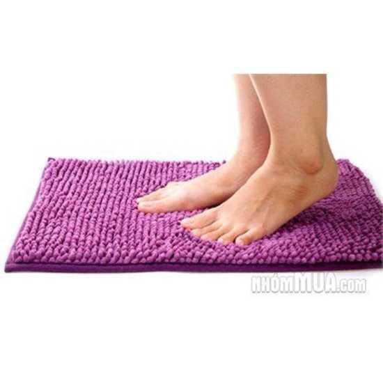 com bo 3 Thảm chùi chân siêu thấm chất cottong 35* 50 cm