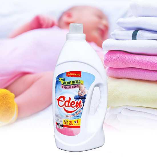 2 lít nước giặt quần áo cho bé, da nhạy cảm Eden NK Pháp