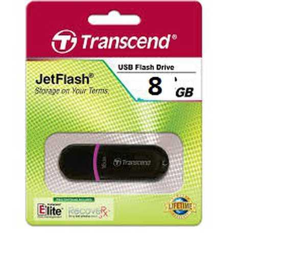 USB Transcend 8G, đảm bảo dung lượng đủ, bảo hành đổi mới 1 năm