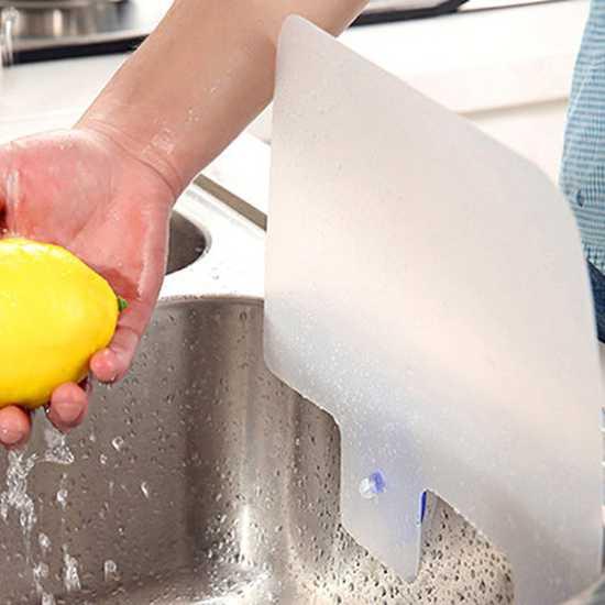 Combo 2 vách ngăn chống văng nước bồn rửa bát