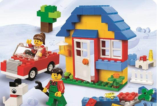 Bộ đồ chơi Mô hình lắp ráp LEGO Bricks & More 02 hộp (5930 và 5899) - Món quà ý nghĩa cho bé yêu của bạn, Chỉ với 399.000đ