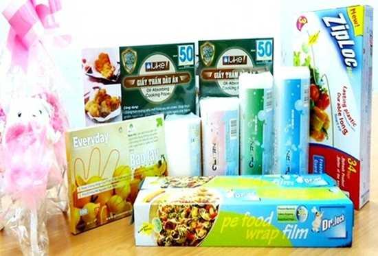 Sở hữu các sản phẩm gia dụng tiện lợi: Bao đựng rác, Ziploc, bao tay, giấy thấm dầu ăn, màng bọc thực phẩm chỉ 119.000đ