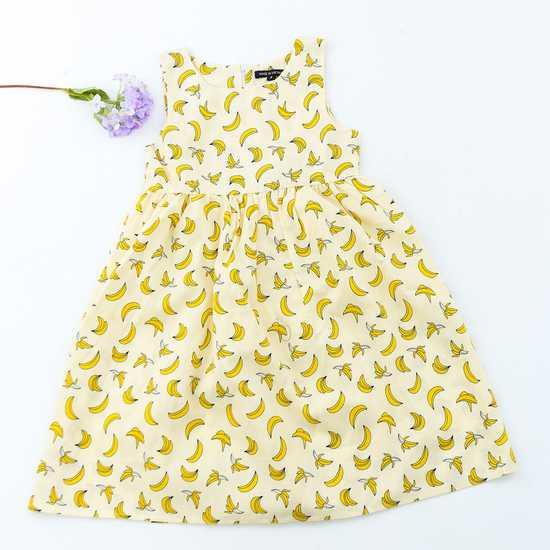 Váy hoa thô cho bé yêu
