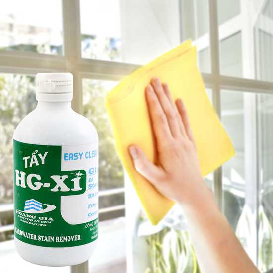 Dung dịch tẩy ố, mốc kính HG-X1 (chai 250ml)