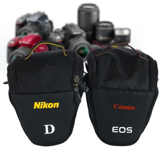 Túi đựng máy ảnh tam giác (body+ lens kit)