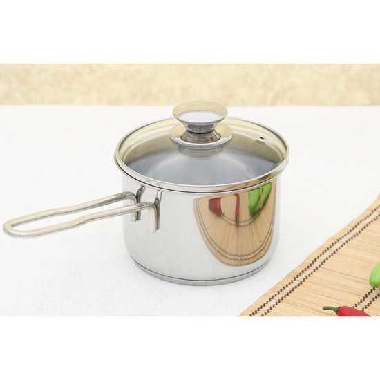 Nồi quánh bột Fivestar 12cm 3 đáy chống cháy dùng được bếp từ có phiếu bảo hành trên toàn quốc