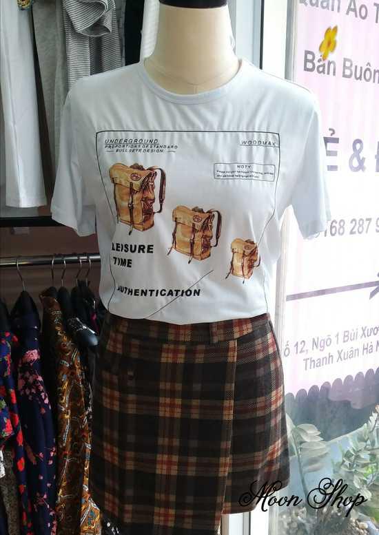Áo Thun Cotton Thời Trang