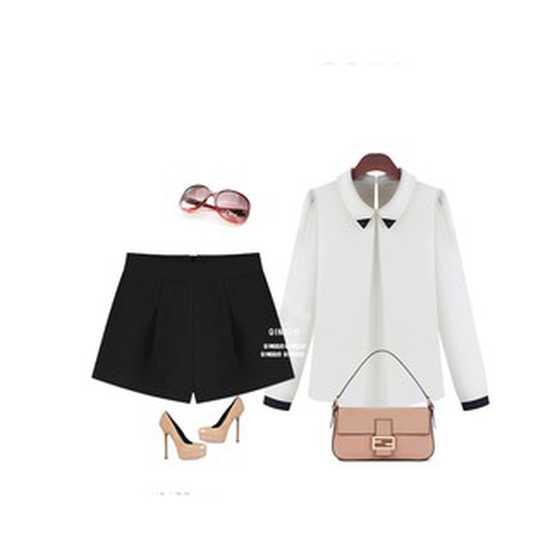 Quần short nữ ỐNG RỘNG thời trang