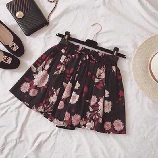 Quần short HOA THẮT NƠ thời trang