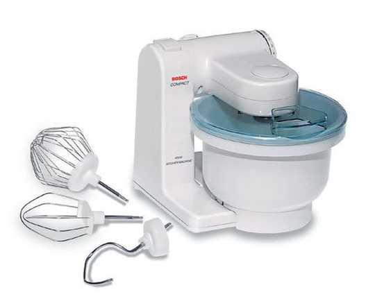 Máy đánh trứng và trộn bột Bosch MUM4600 550W (Trắng) - Hàng Chính Hãng