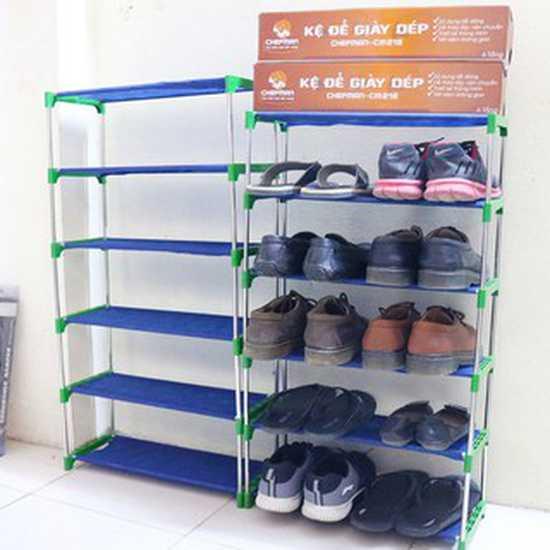 Kệ để giày dép 6 tầng Chefman CM-216