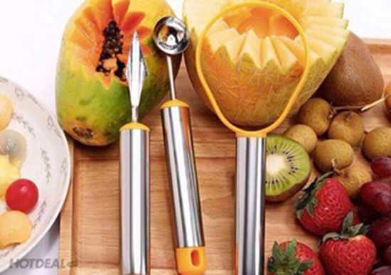 Bộ cắt tỉa hoa quả 3 món
