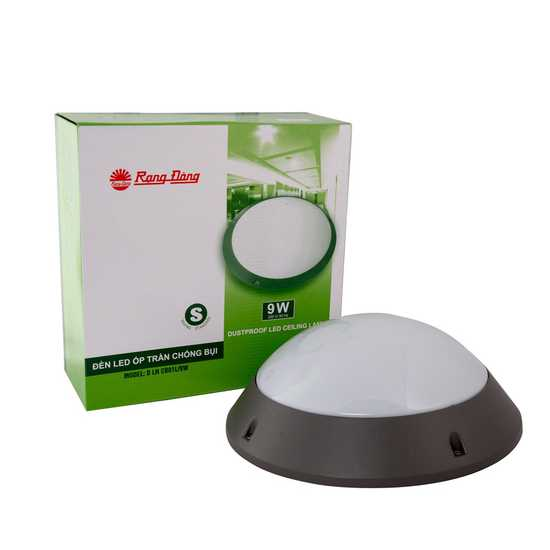 Đèn LED Ốp trần chống bụi 9W Model: D LN CB01L/9W